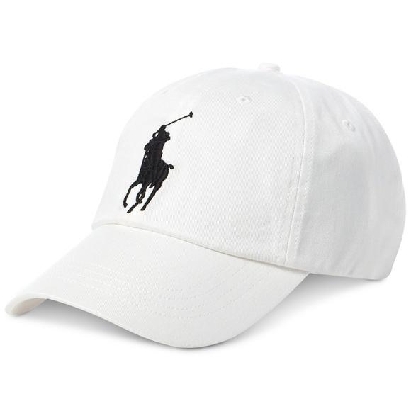 09389db0a563b Polo Ralph Lauren Big Pony Chino Baseball Cap